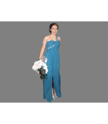 абитуриентска вечерна рокля с цепка