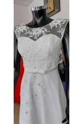 елегантна булчинска рокля със свободна кройка