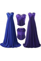 елегантна бална рокля в 3 стилни гами