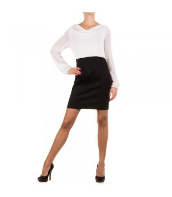 стилна бизнес рокля тип униформа - класика
