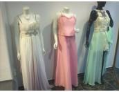вечерна рокля в нежно розово 2 в 1 оптик