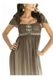 бутикова луксозна рокля в преливаща се гама омбре