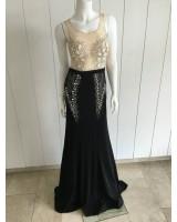 екстравагантна вечерна рокля обсипана с камъни 2017