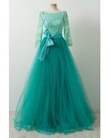 абитуриентска рокля с дълъг ръкав Благоевград 2020