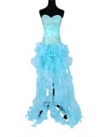 събираща погледите бална рокля обсипана с декоративни кристали в 2 гами