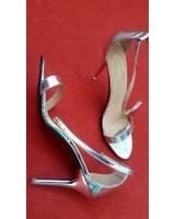сватбени абитуриентски обувки тип сандали с изтънчен дизайн