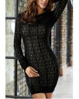 топла и сексапилна рокля тип плетка