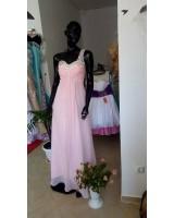 нежна абитуриентска рокля с едно рамо