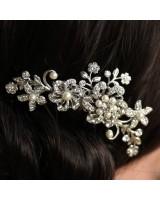 перлен сватбен гребен за коса или воал