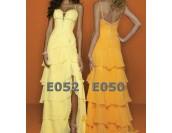 дамска елегантна бална абитуриентска рокля в 2 гами