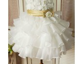 шаферска сватбена рокля за момиченца