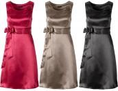сатенени шаферски рокли с цветенце