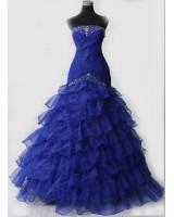 обемна бална рокля в салса стил лимитирана серия