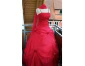 дамска абитуриентска вечерна елегантна изгодна рокля макси размери