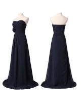 елегантна официална рокля в индигова гама или по поръчка