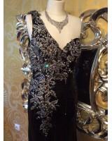 официална бална рокля с ултра богата декорация 2021