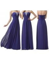 права бална рокля в лилава гама с пайети