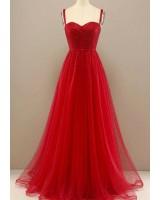 ултра сияеща бална рокля в червено по поръчка 2021 Благоевград