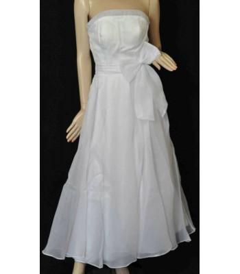 романтична сватбена рокля с пандела