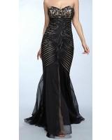 дизайнерска официална рокля оригинал в малки размери 2018