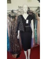 официален дамски комплект рокля със сако Palaz Styling