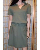 дамска свежа пролетна спортна рокля 42