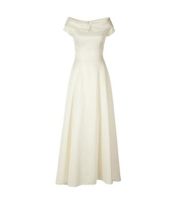 маркова сватбена рокля с изчистен и стилен дизайн