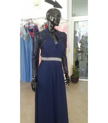 официална рокля в индиго подходяща и за майка на булката