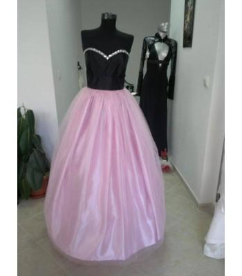 бална рокля с обем в гама по желание