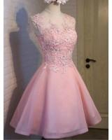 кукленска рокля от органза и дантела по поръчка
