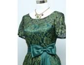 стилна рокля с къс ръкав в стил майка на булката 3 гами