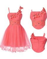 шаферска рокля в диня за малки и пораснали шаферки