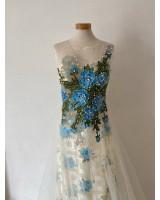 3D бална рокля с креативен дизайн
