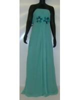 луксозна абитуриентска рокля в ментова гама и мини размери 2016