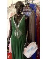 официална екстравагантна рокля висша мода с шлейф