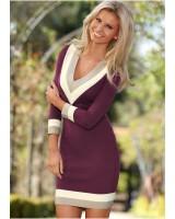 стилна ежедневна бизнес рокля в 4 гами