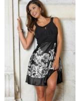 дамска вечерна ежедневна рокля 34 в 3 различни гами