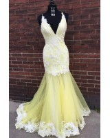 бална рокля тип русалка модел 2020