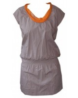 дамска спортна пролетна рокля в сива гама