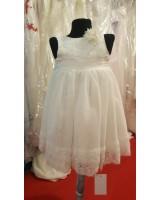 детска шаферска рокля с розички