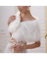 сватбено болеро мини - палто яка с перли уни