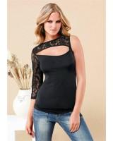 официална маркова блуза с един ръкав
