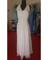 свободно - падаща маркова сватбена рокля подходяща за бременни