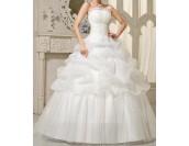 обемна сватбена рокля в 2 гами