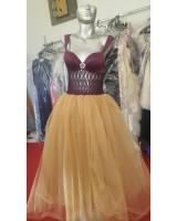 обемна рокля с Palaz Styling дизайн колекция 2018