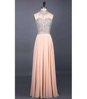екстравагантна бална рокля с много кристали и блясък 2019