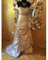 възхитителна дизайнерска рокля 2 в 1