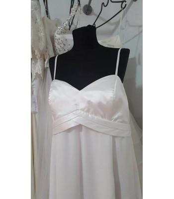 булчинска рокля Палаз Стайлинг с разкроен дизайн за макси дами