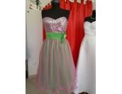 кокетна бална рокля в свеж микс от гами