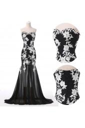 абитуриентска рокля в готик стил шах мат